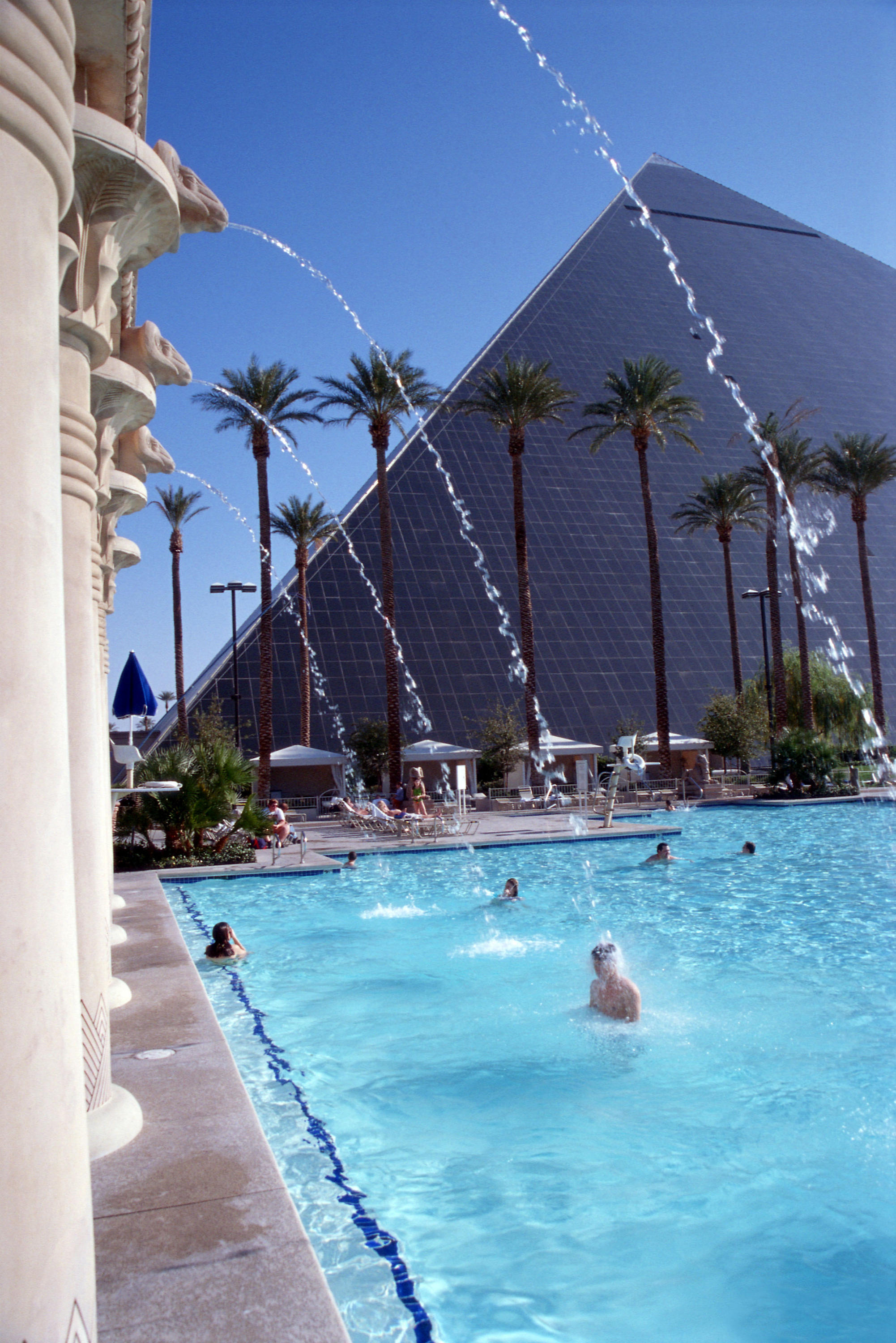 The Pool at Luxor Hotel and Casino