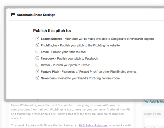 Auto-Publish Settings