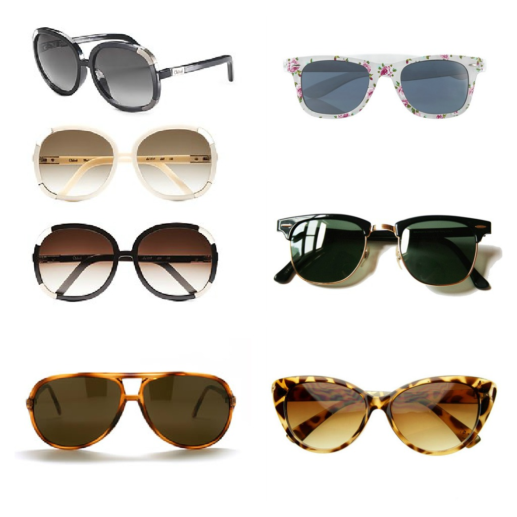 Sunglasses Styles  protect your eyes and flatter your face with the top sunglasses