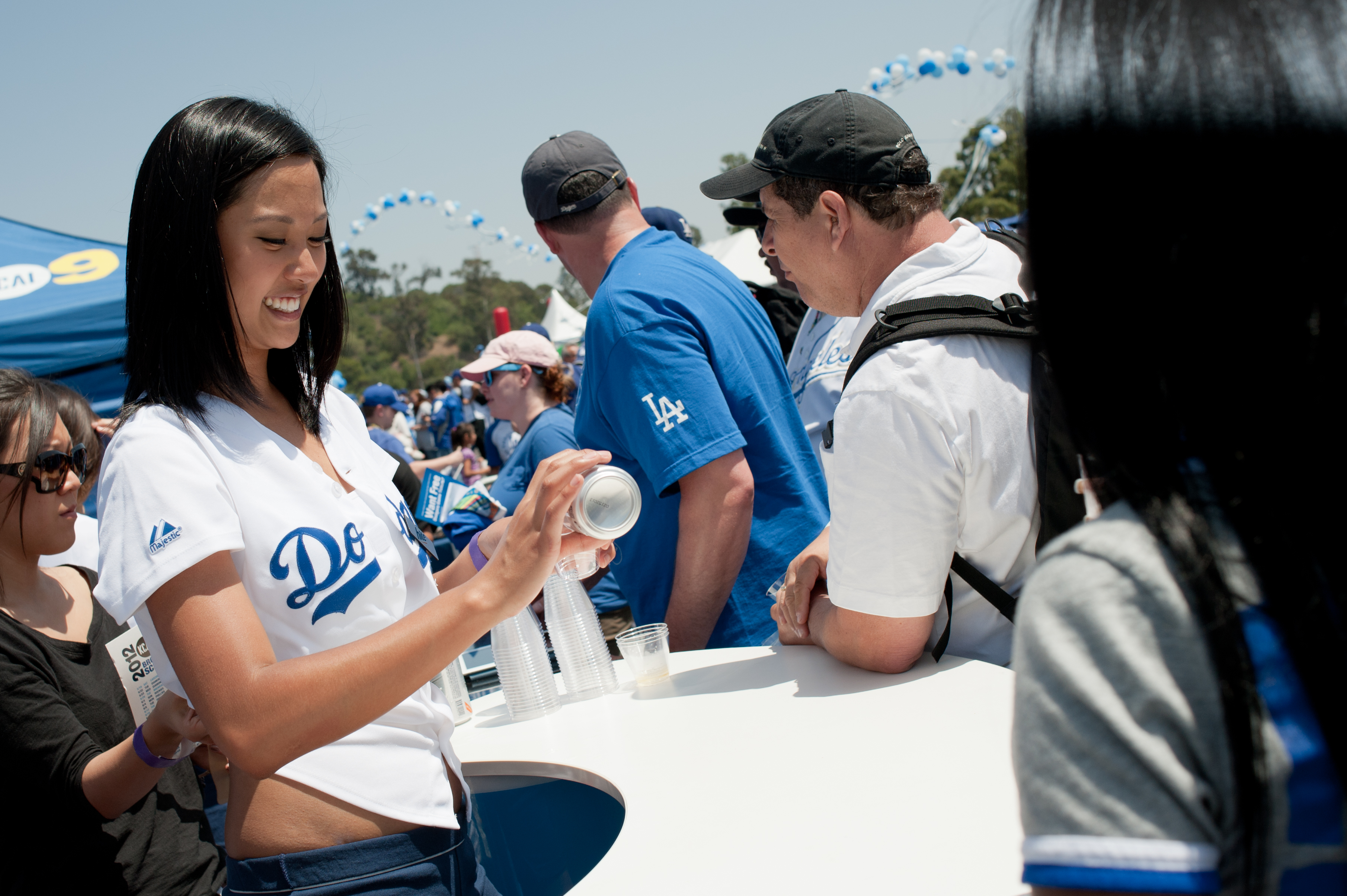 At the Dodger FanFest, May 19th!