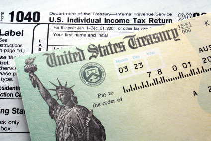 Every year Universal informs students of changes to tax law, as it applies for Form 1040.