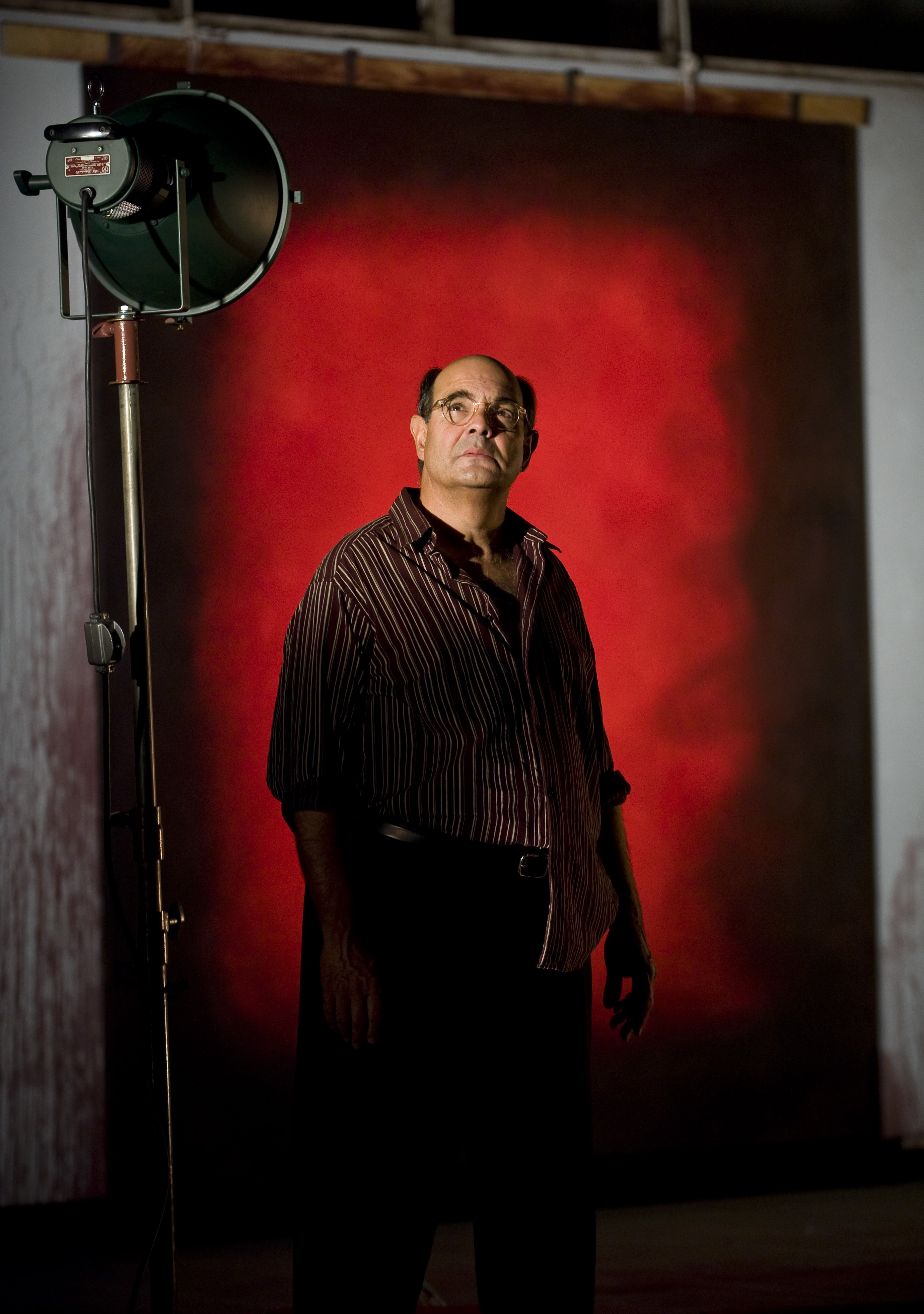 Edward Gero as Mark Rothko in the 2011 Goodman Theatre production of Red. Directed by Robert Falls. Photo by Liz Lauren.