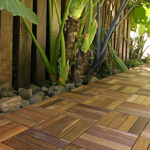 Create instant outdoor flooring with abaco interlocking patio deck tiles - How to install interlocking deck tiles ...