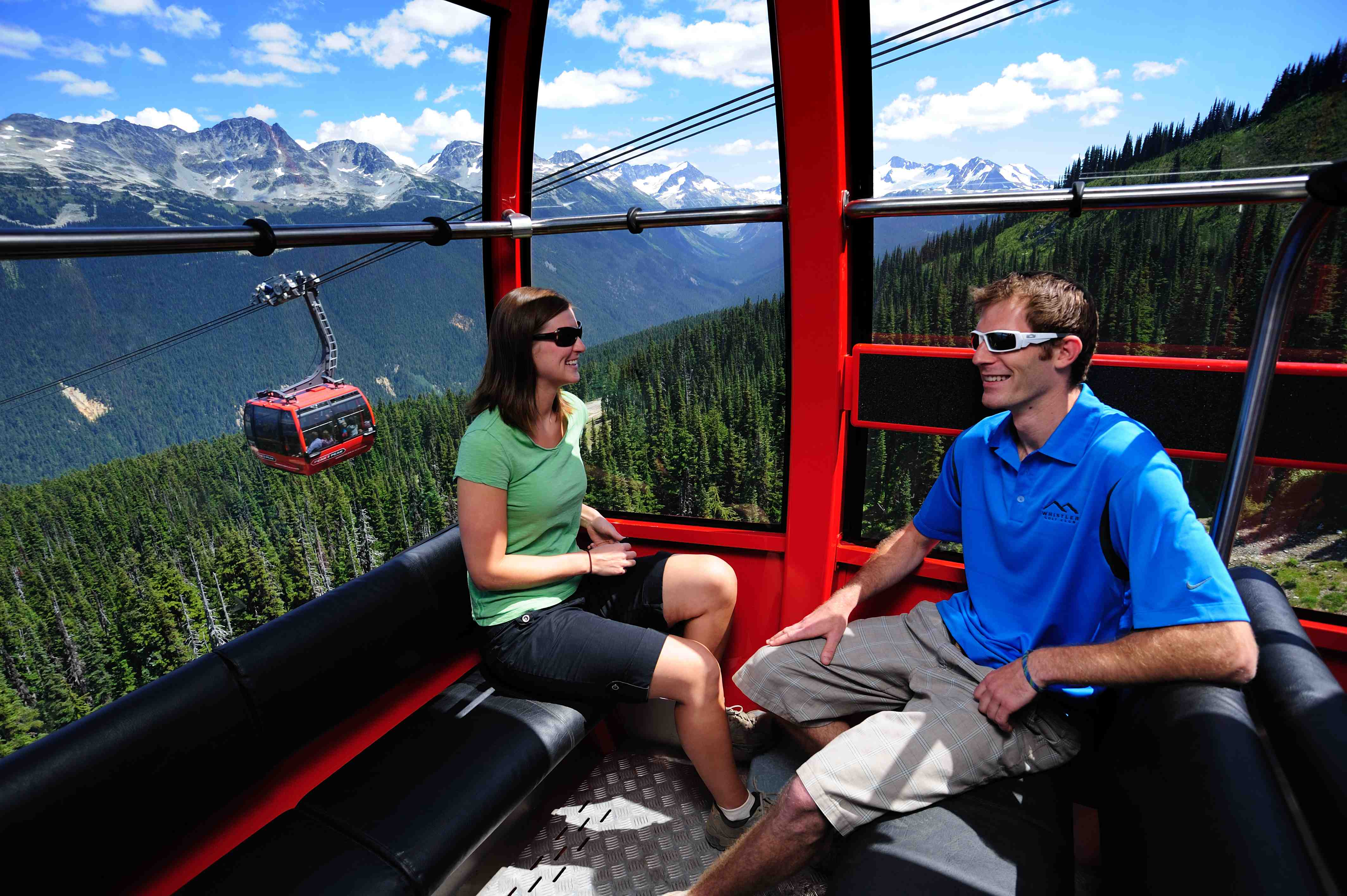 Experience the record-breaking Peak 2 Peak gondola in Whistler (EnjoyWhistler.com). Photo credit: Tourism Whistler