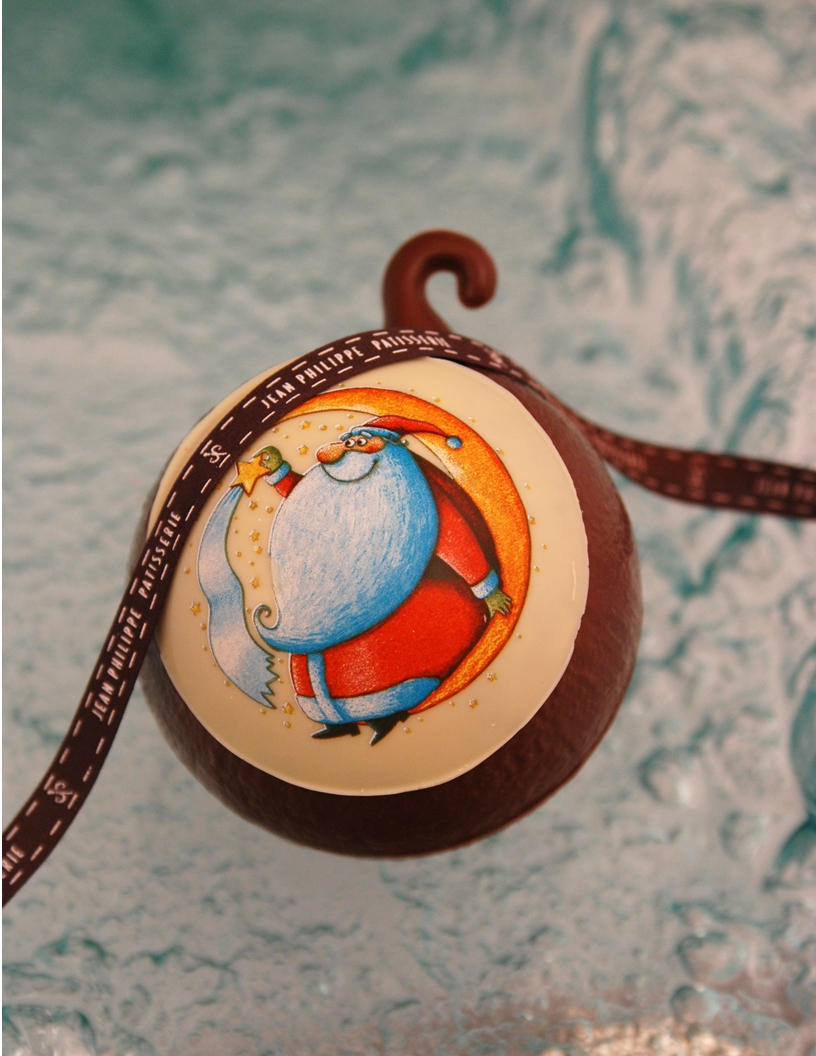 Chocolate Christmas Ornament