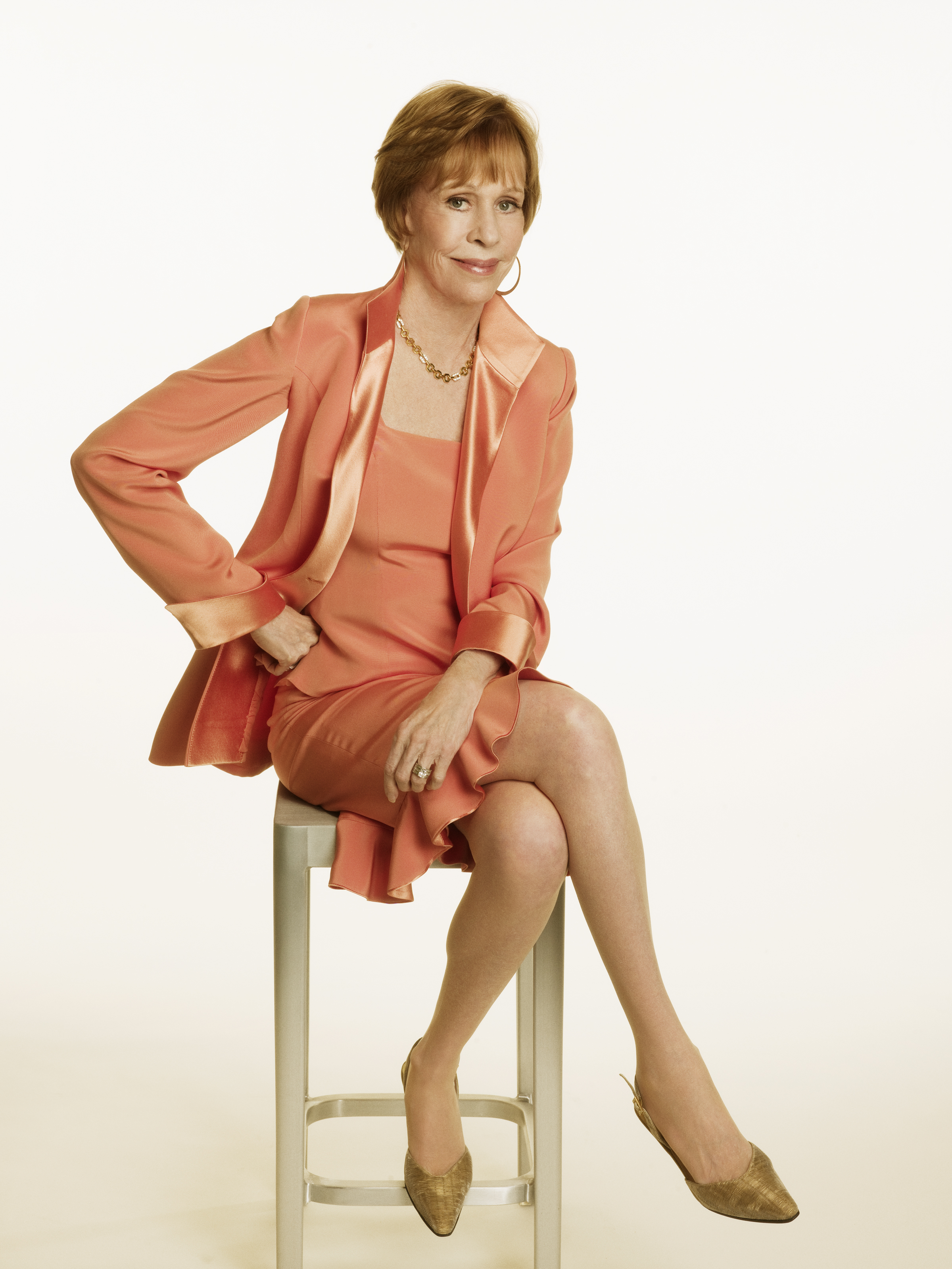 Carol Burnett.  Headshot copyright 2010 Mabel Cat Inc. Photograph by Randee St. Nicholas