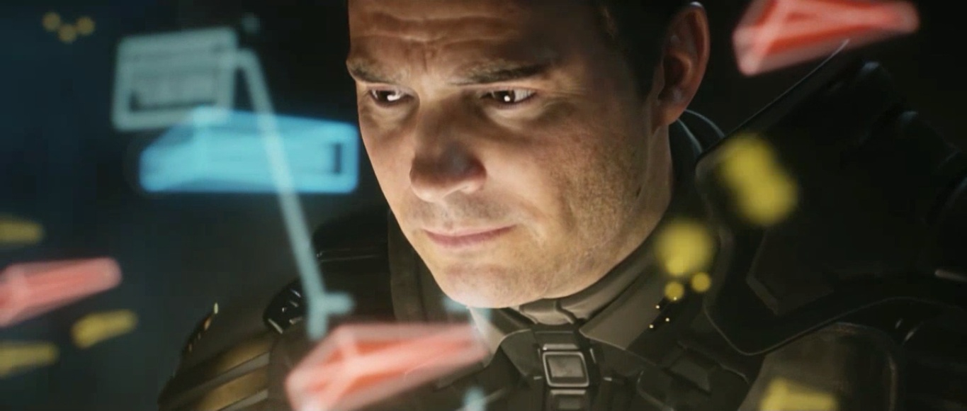 Tom Lasky character in HALO 4 SPARTAN OPS