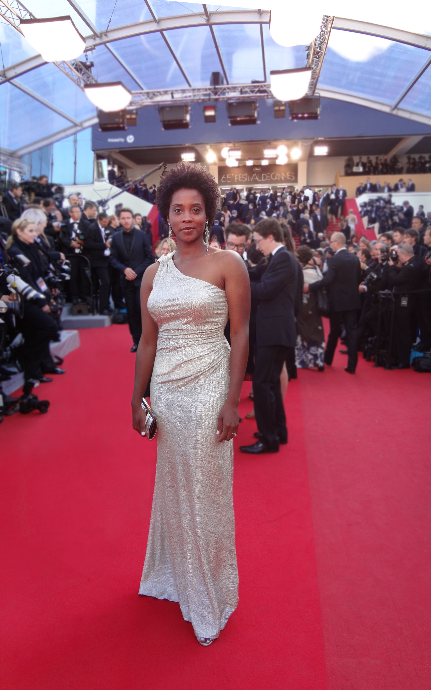 Linara Washington at Cannes Film Festival 2012