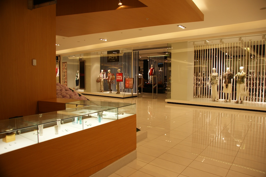 The interior of Mall Plaza Antofagasta, created by tvsdesign.
