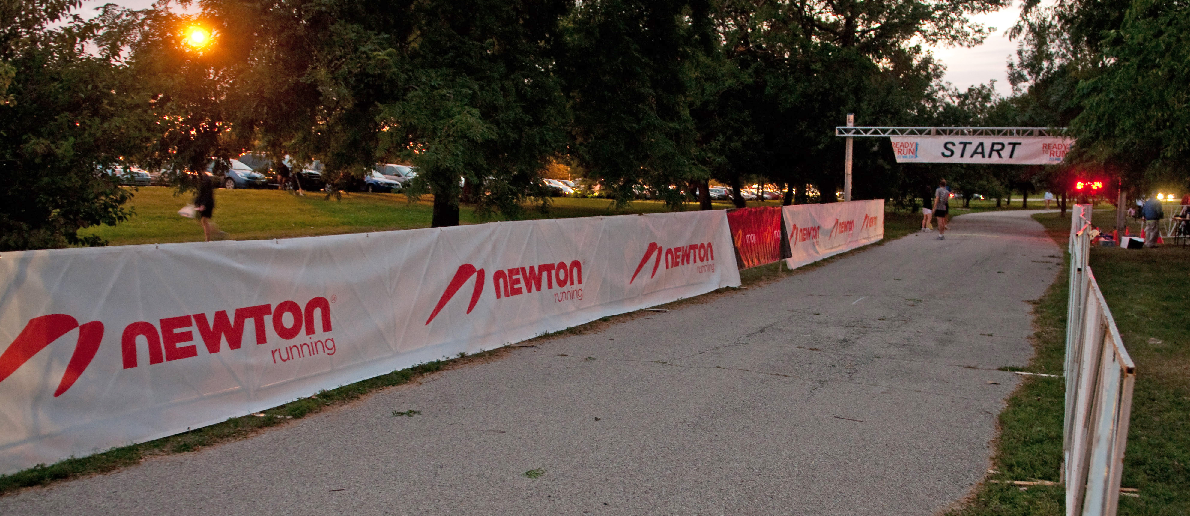 Newton Running is sponsoring the CARA Ready to Run 20-miler for the second year in a row. c Chad Marek, 2011