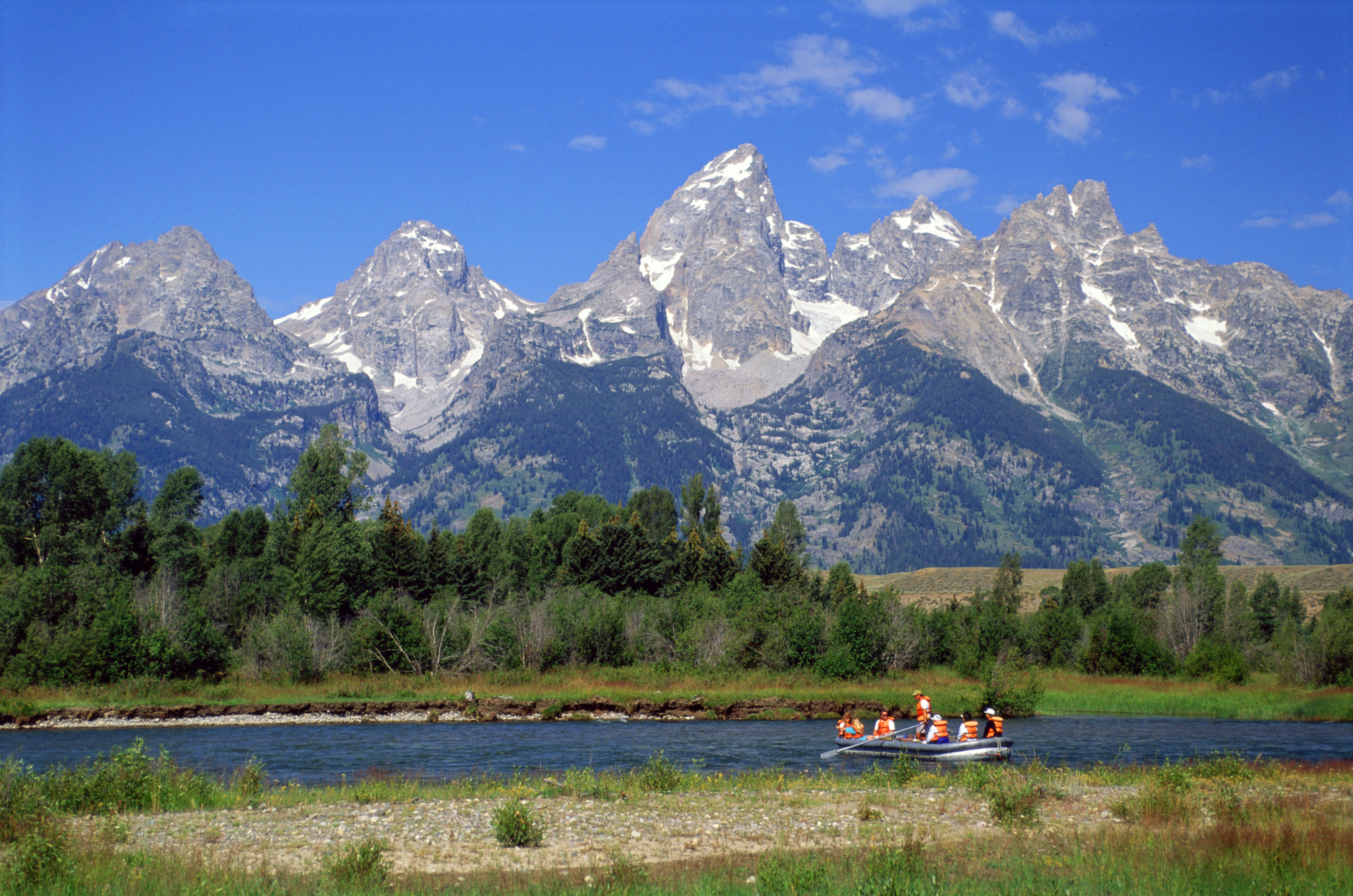 Rafting in Grand Teton NP