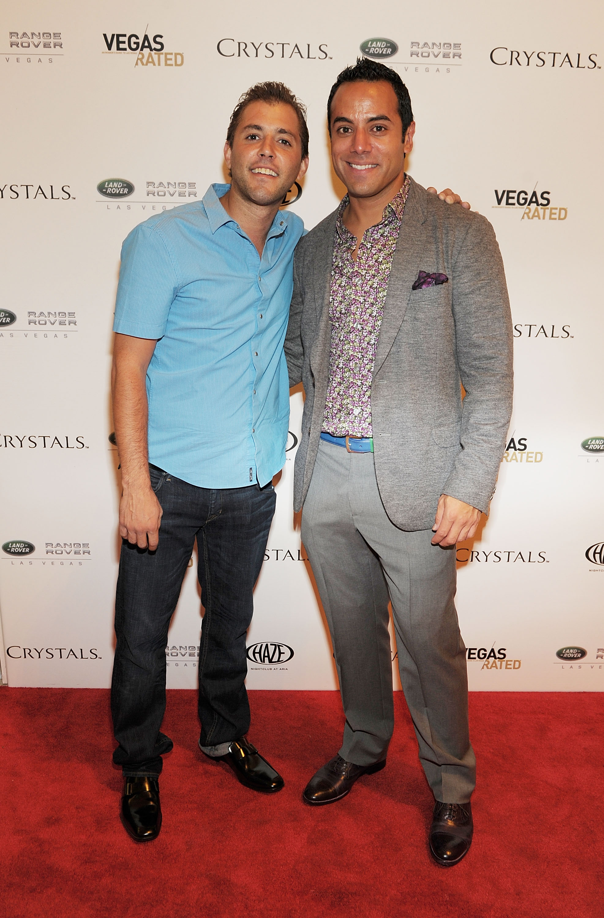 2011 Fashion's Night Out celebration at Crystals - Gavin Goorjian and Chris Saldana