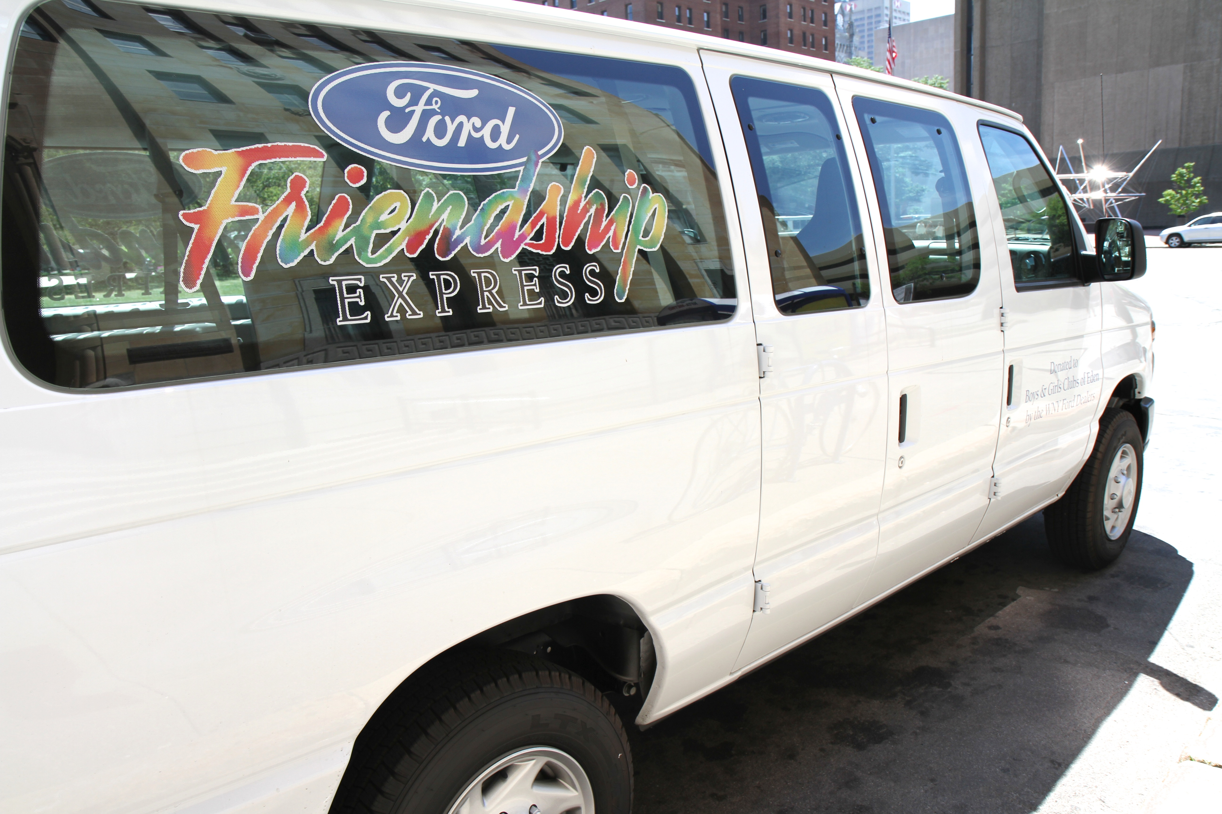 Now in its 17th year, the Ford Friendship Express program has awarded 65 vans valued at more than $1.2 million to WNY nonprofits.