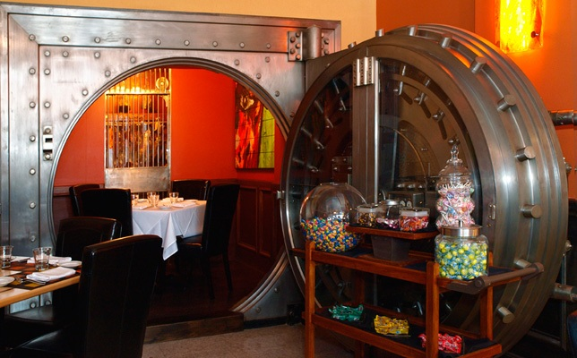 Private Bank Vault Table at DANTE