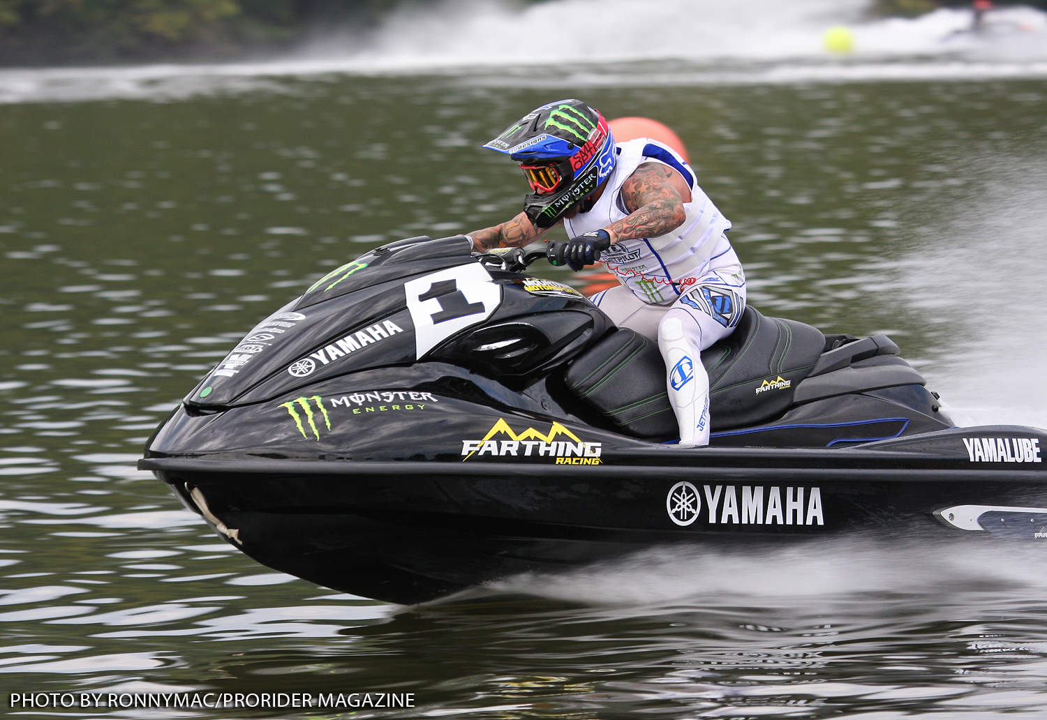 Yamaha rider Dustin Farthing won his 17th national title.