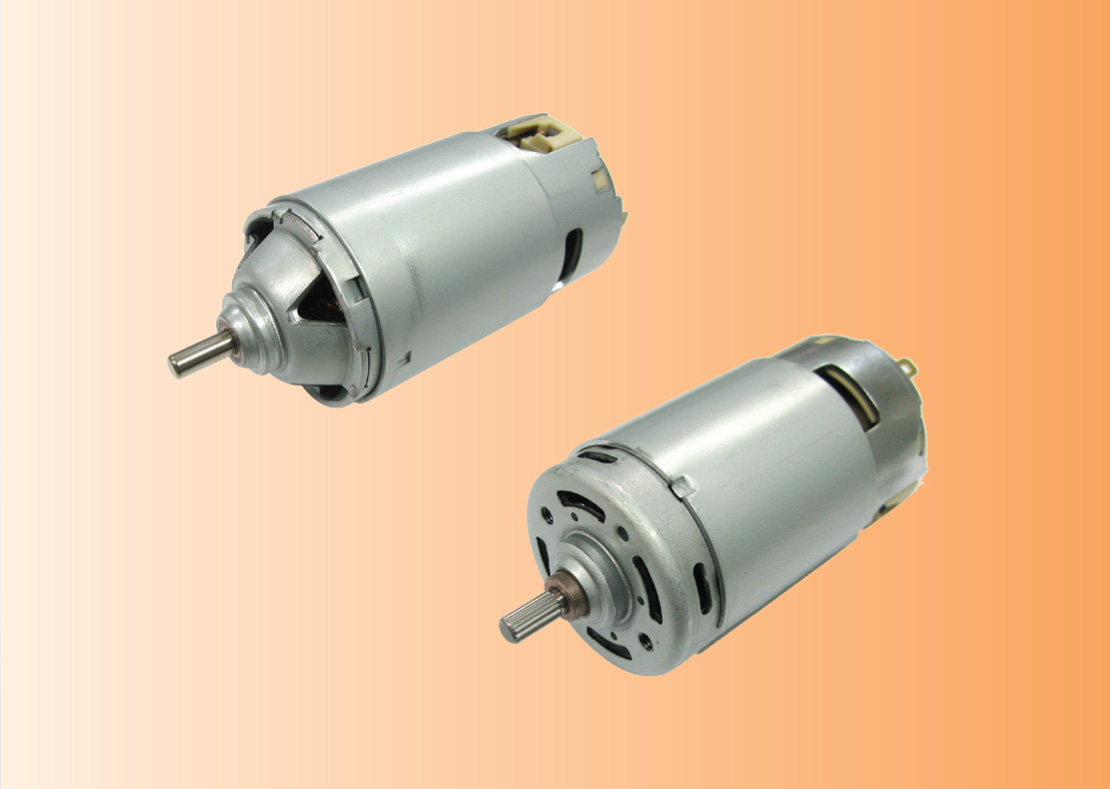 Johnson Electric DC motors for hand blenders