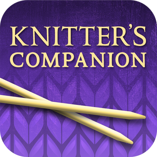 The Knitter's Companion App is now available exclusively for the iPad