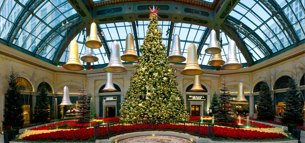 Bellagio Conservatory & Botanical Gardens - Holiday Tree
