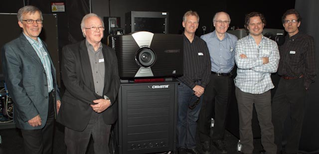 Cinema Leaders at Christie HFR Summit and Laser Demo