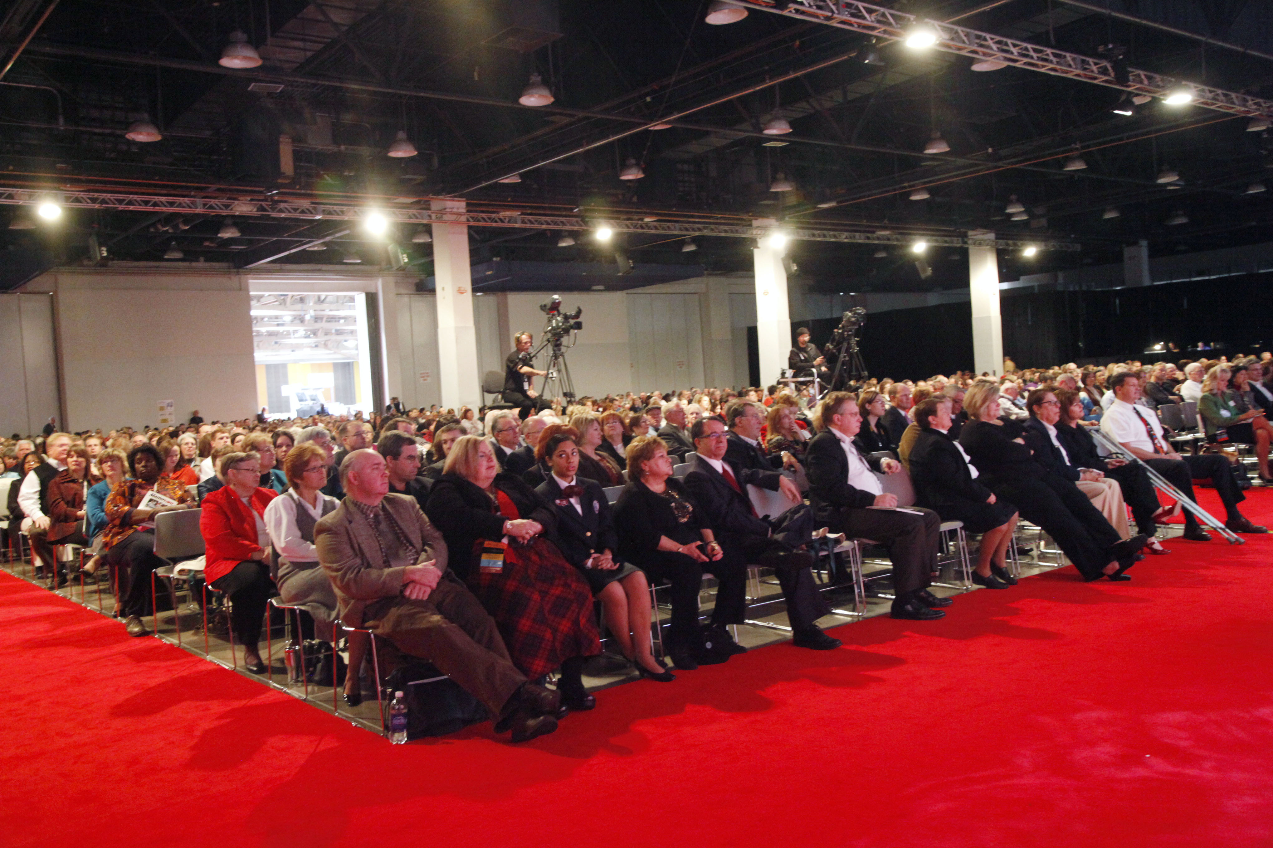 Crowd from ACTE Annual Convention in 2010
