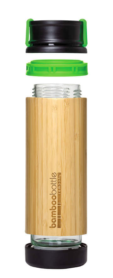 Bamboo Bottle with Hot Top