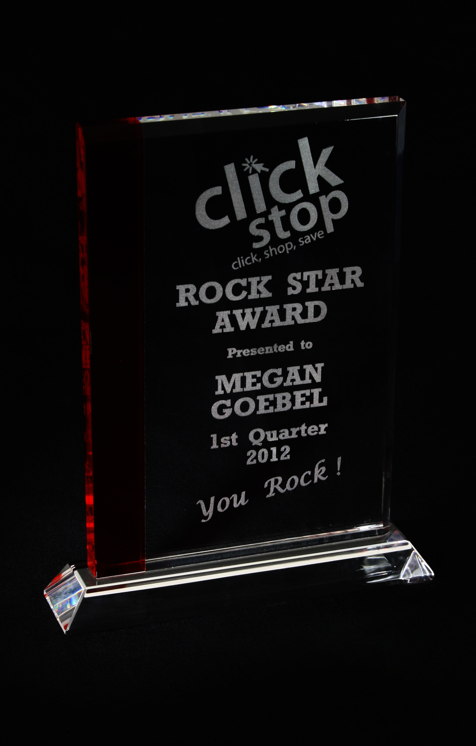Clickstop's Rock Star Award