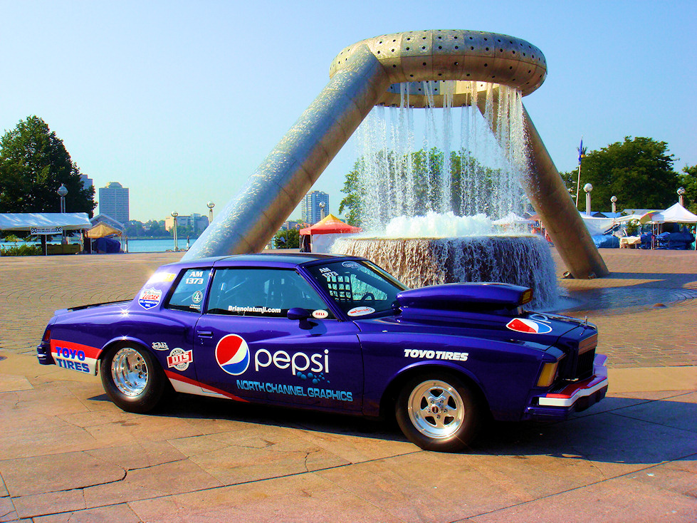 2009 Pepsi hot rod in Hart Plaza