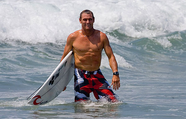 Pro Surfer Taylor Knox competes on the ASP World Tour.