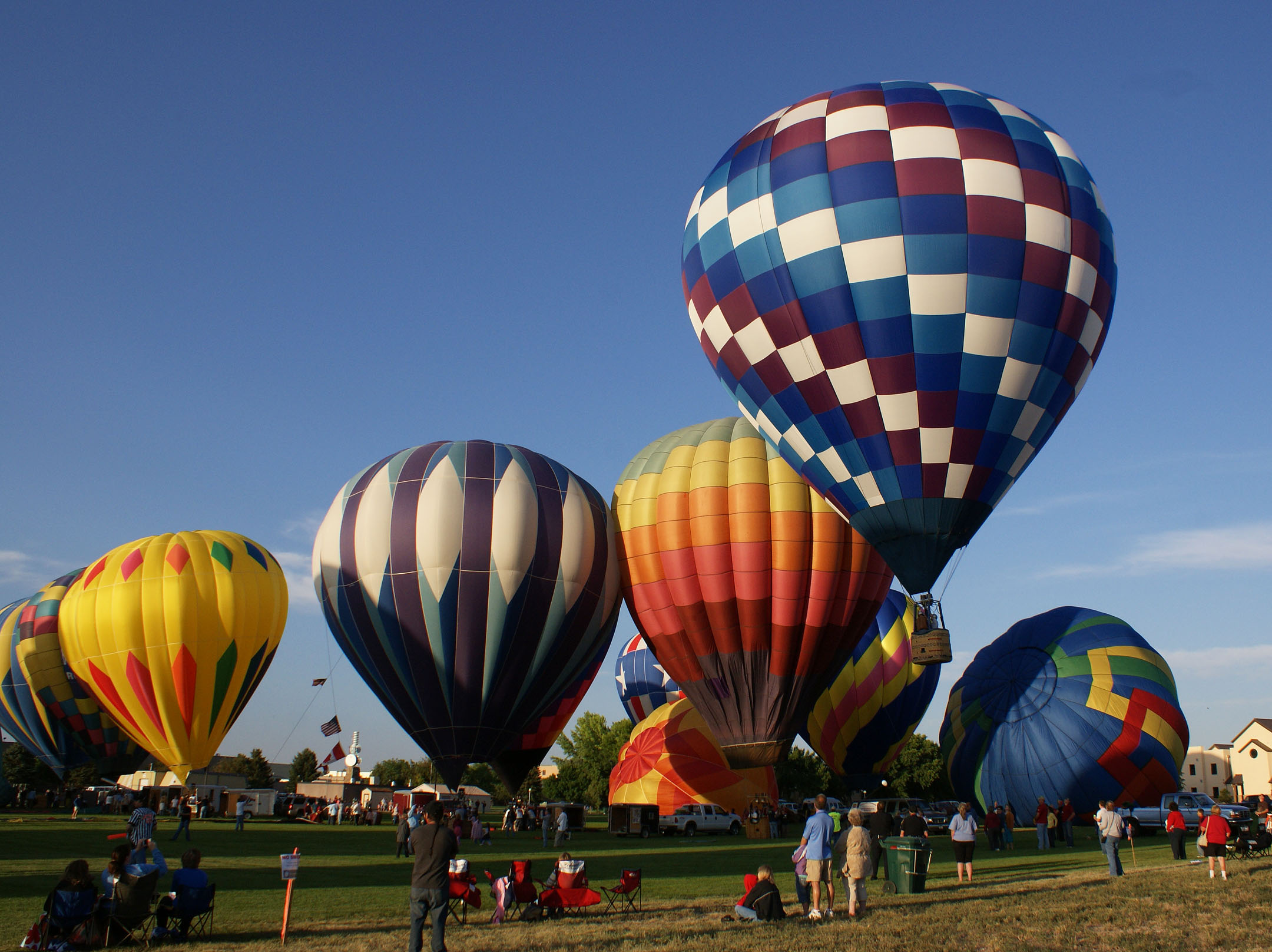 Rendezvous Weekend Includes a Spectacular Hot Air Balloon Rally in Riverton, WY July 20-22.