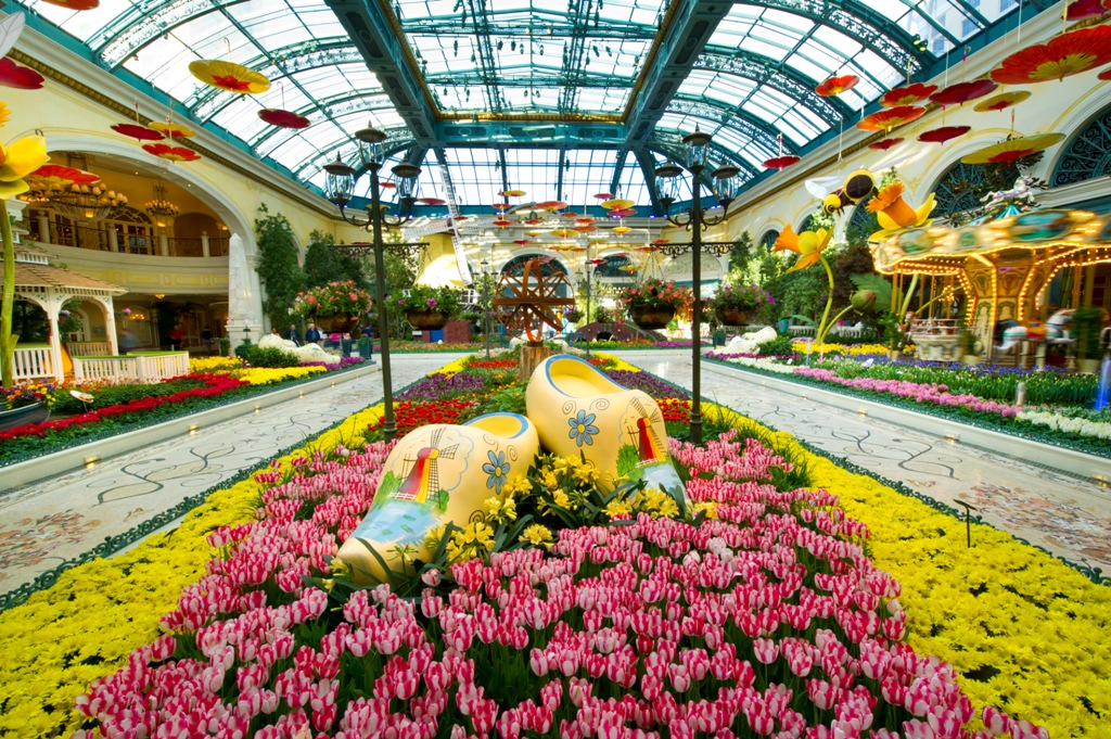 Step into spring at Bellagio&#39;s Conservatory &amp; Botanical Gardens