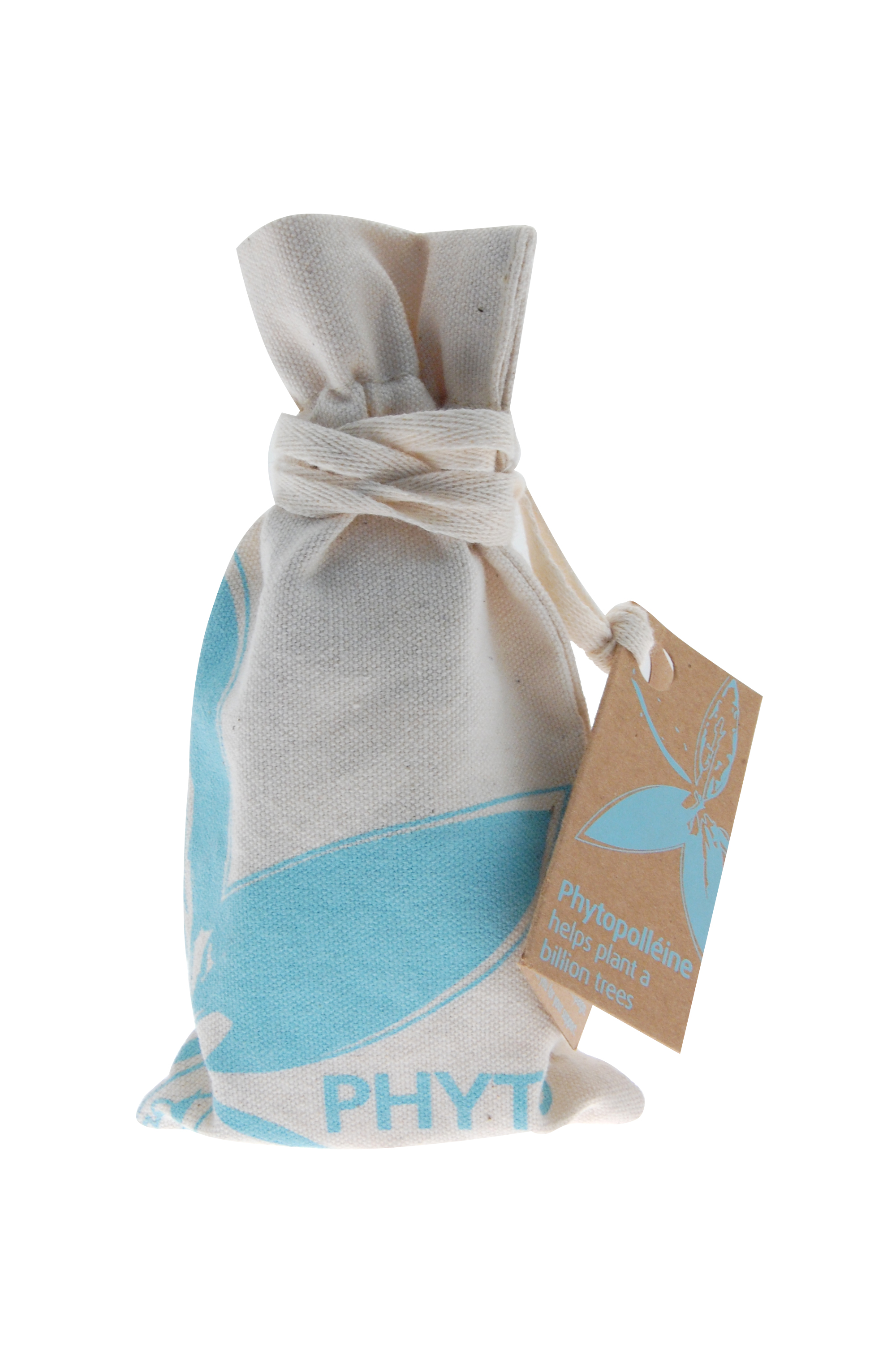 Limited edition Earth Day Phytopolleine bag. $2 from each sale benefits The Nature Conservancy's Plant a Billion Trees Campaign