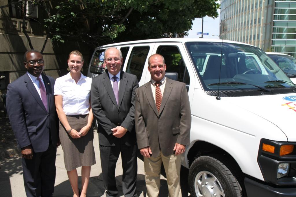 2011 van recipient - Alcohol & Drug Dependency Services