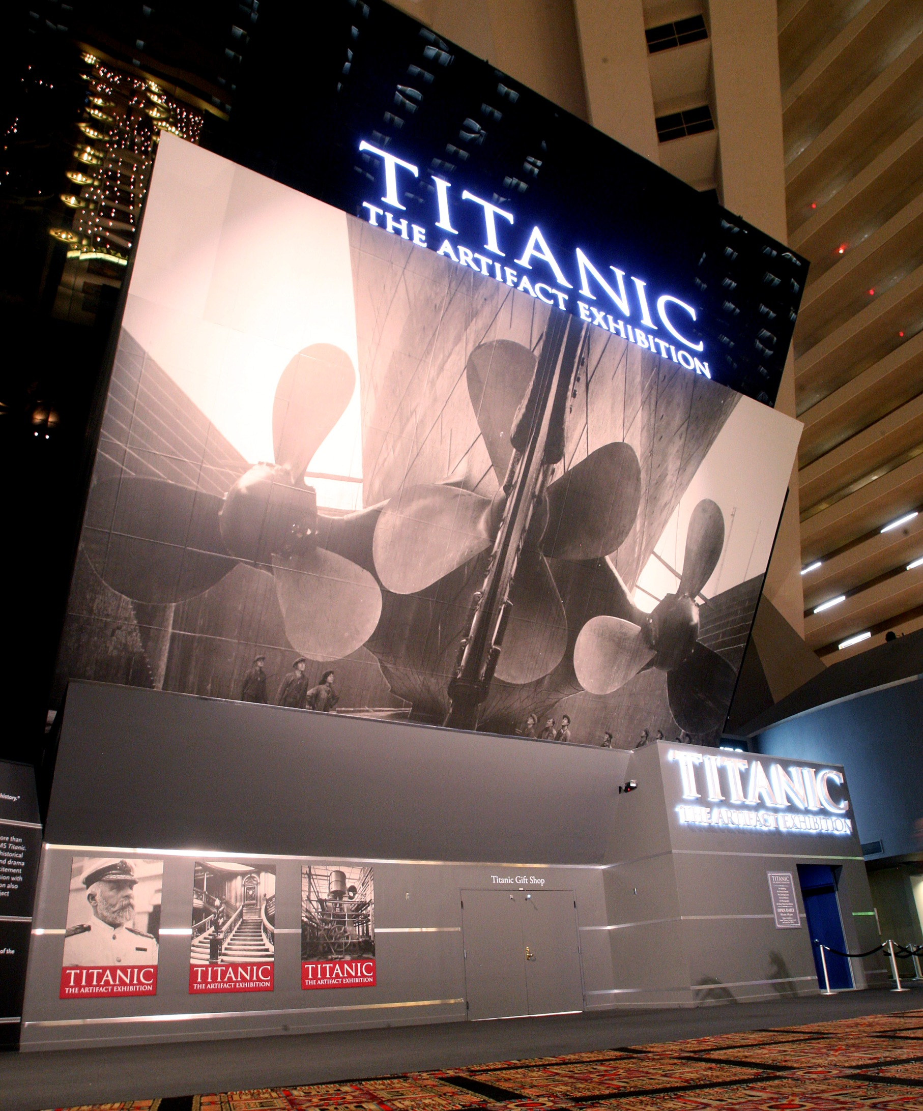 Titanic: The Artifact Exhibition at Luxor