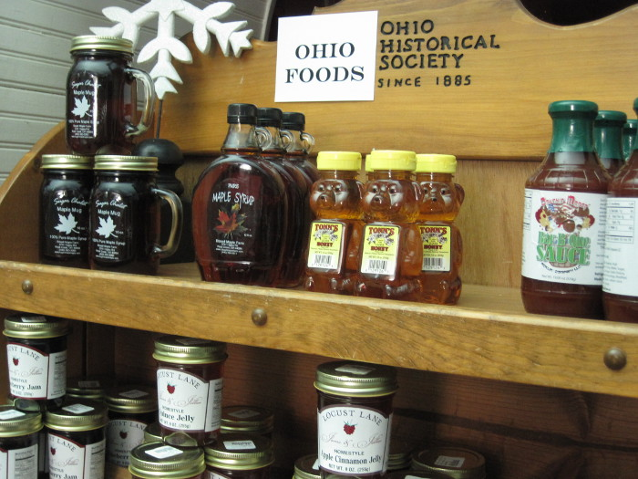 Made in Ohio Foods sold at the Ohio History Store.