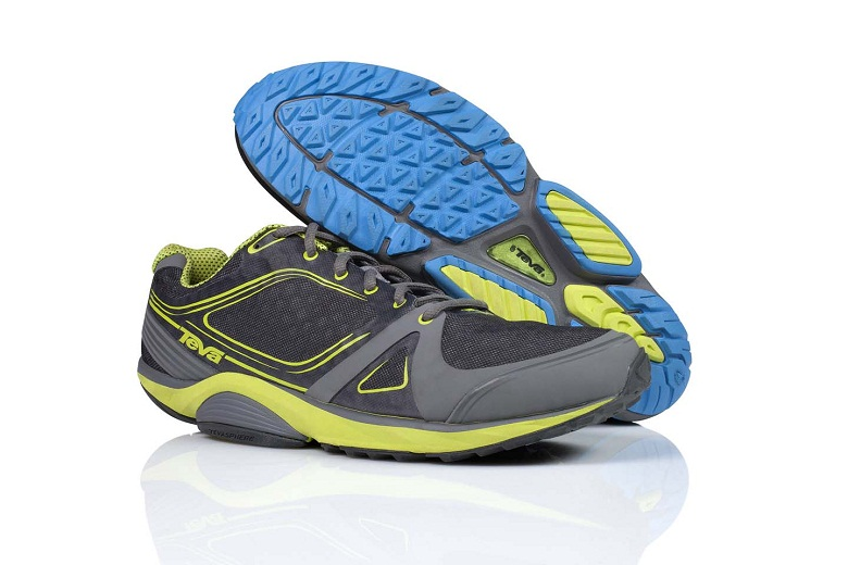 The new TevaSphere collection by Teva is an outdoors cross-trainer that is ideal for users who take on a variety of terrain in their active pursuits.   Featuring a patent-pending spherical heel and pod-arch system, the TevaSphere technology delivers a more natural point of impact, efficient transition and phenomenal stability.