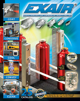 EXAIR's new Catalog 25