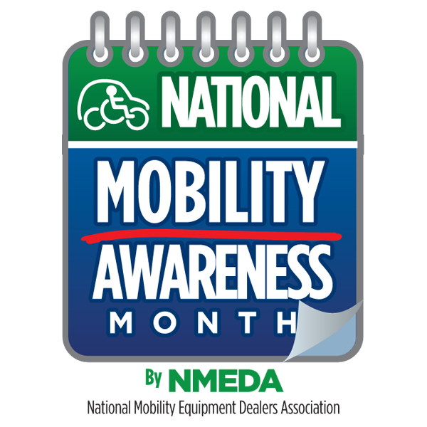 May is National Mobility Awareness Month, sponsored by NMEDA and local dealers.