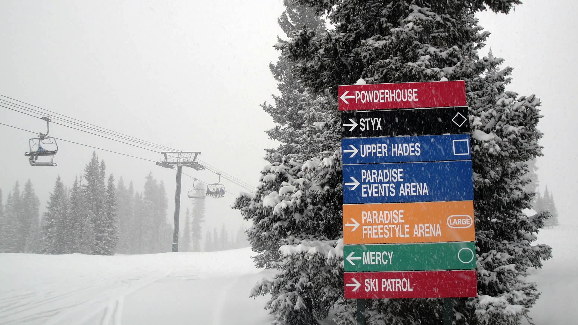 Purgatory at Durango Mountain Resort reporting a base of 40&quot;