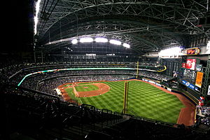 Miller Park stadium in Milwaukee, Wisconsin. 