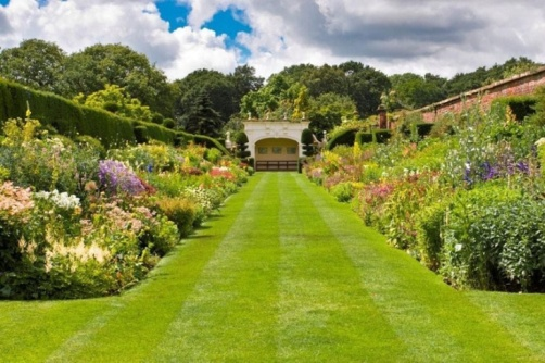 The Herbaceous Borders at Arley