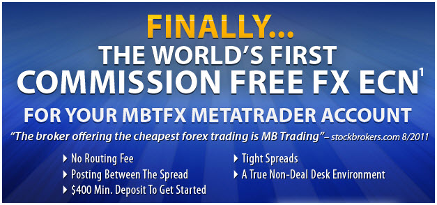 The Worlds First FREE FOREX ECN