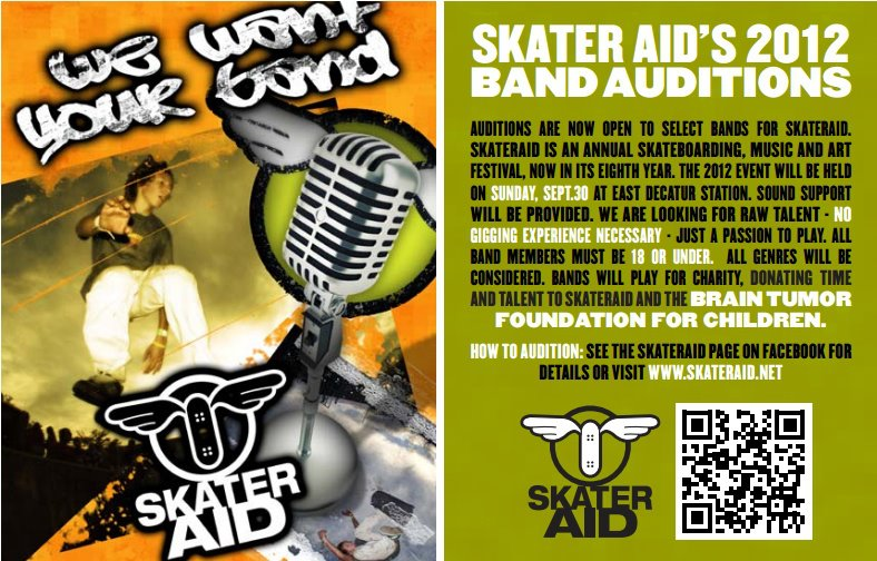 Skater Aid's Call for Bands