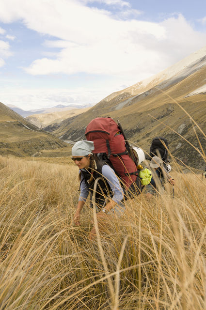 Students on NOLS New Zealand courses experience the backcountry while learning outdoor and leadership skills. Fredrik Norrsell/NOLS photo