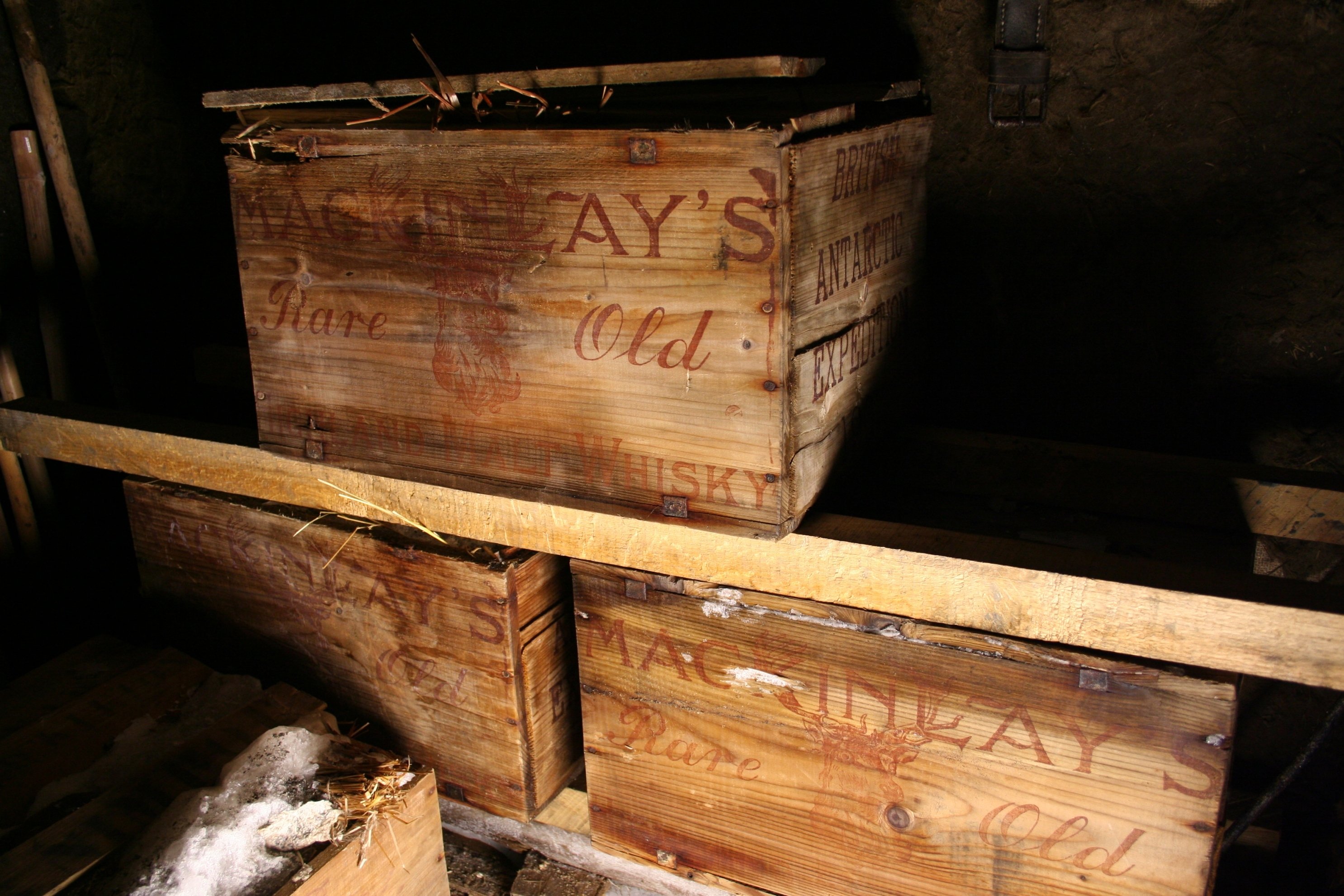 Year Old Whisky And Brandy Crates Excavated In Antarctica - 100 year old photos antarctica