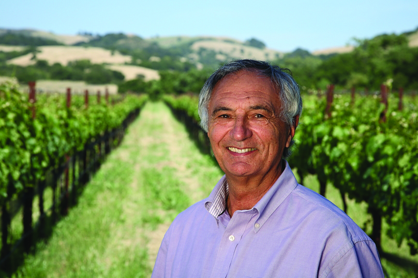 Winemaker Bernard Portet is celebrating 40 Years in the Napa Valley in 2012.