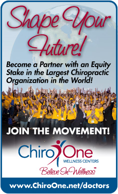 Shape your future! Chiro One Wellness Centers is looking for students and DCs to fill immediate job openings in Chicagoland and Texas.