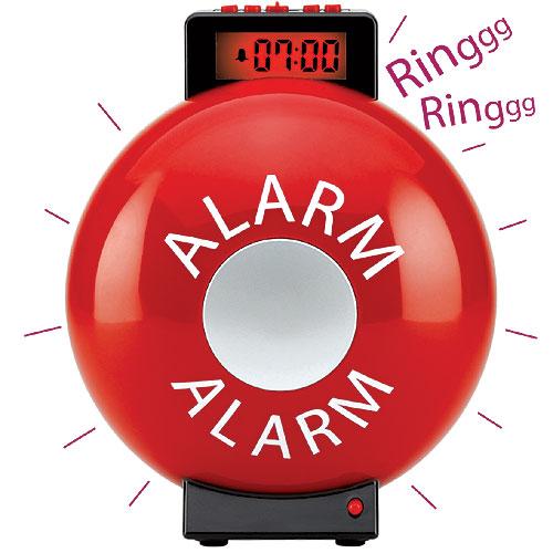 Baker Ross Firebell Alarm Clock