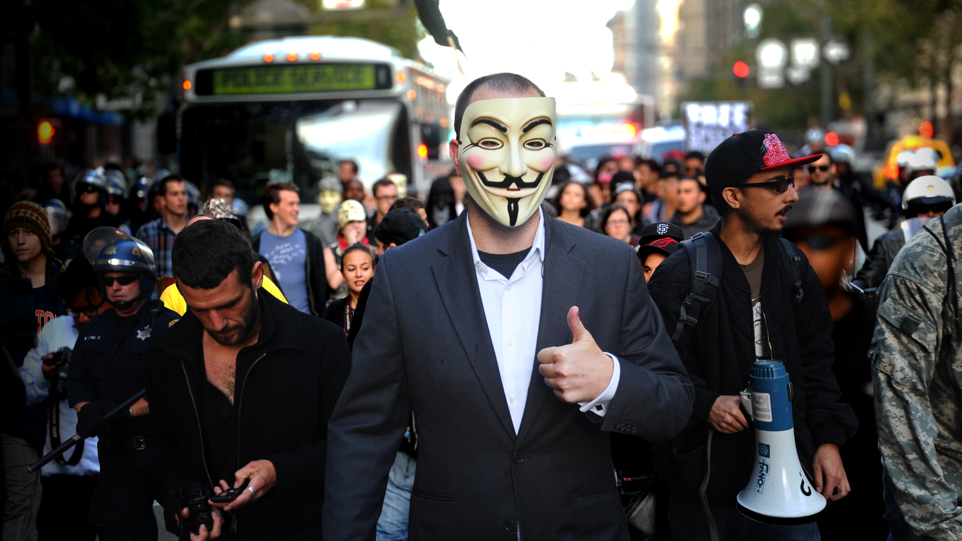 We Are Legion - Anonymous Member