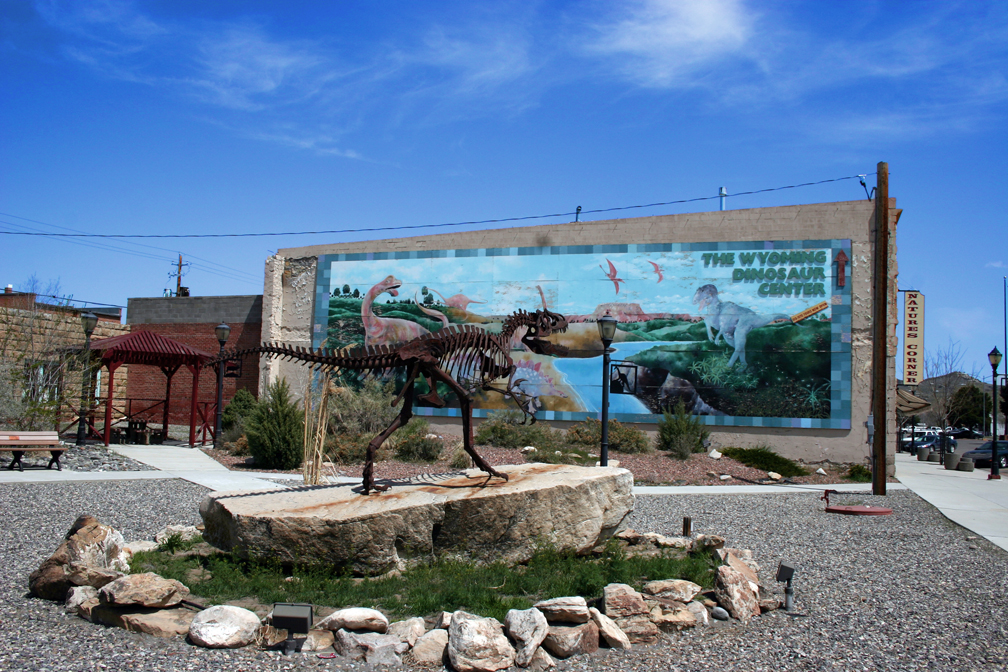 Downtown Thermopolis-Wyoming Dinosaur Center