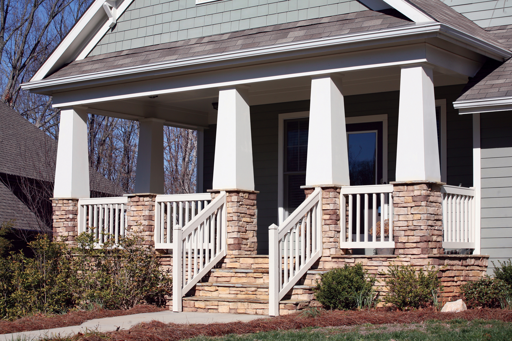Tapered Porch Columns